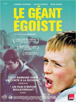 Mardi novembre 20h30, cinéma Alizés Avant-première géant égoïste