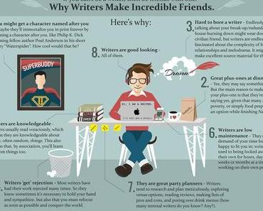 Why writers make great friends