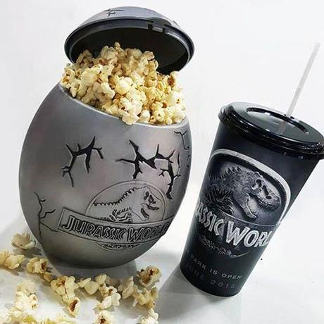 Le  egg Popcorn Bucket de Jurassic World !