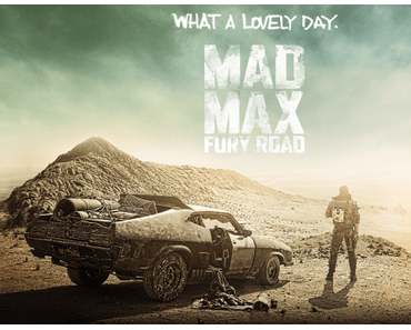 """Mad Max : Fury Road""  en version ""The Artist"""