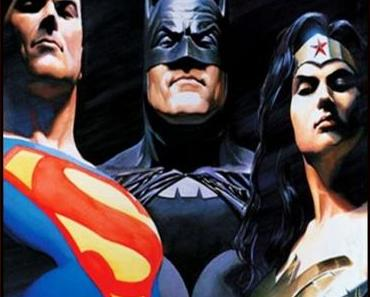 Batman v Superman-Dawn of Justice: premier cliché de la Trinité!