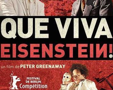 Que viva Eisenstein ! de Peter Greenaway