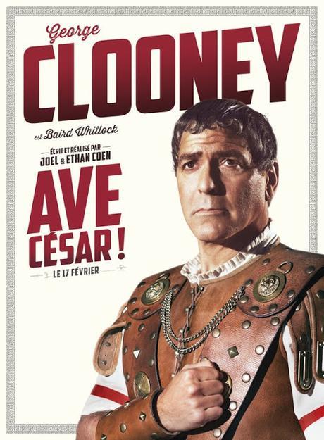 Affiches personnages VF pour l'attendu Avé César ! des frères Coen