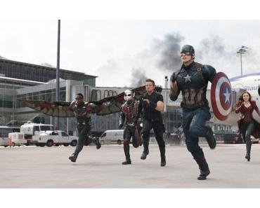 CAPTAIN AMERICA – CIVIL WAR : Le choc des titans ★★★★☆