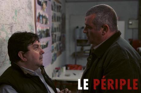 Le vétérinaire (Pierre Pirol) et Rillaud (Eric Collado)