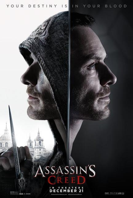 Nouvelle bande annonce VF et affiche pour Assassins Creed de Justin Kurzel