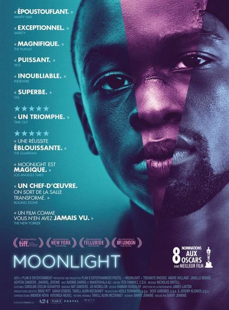 Moonlight réalisé par Barry Jenkins [Sortie de Séance Cinéma]