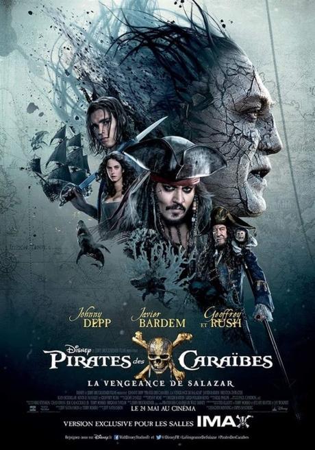 Pirates des Caraïbes : La Vengeance de Salazar réalisé par Joachim Rønning [Sortie de Séance Cinéma]