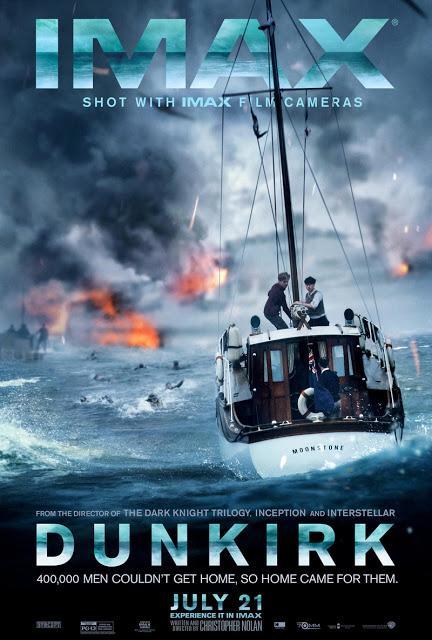 Affiche IMAX pour Dunkerque de Christopher Nolan