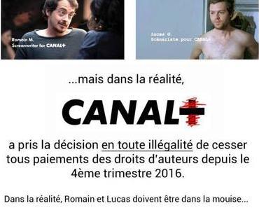 Canal + croit pouvoir racketter les scénaristes
