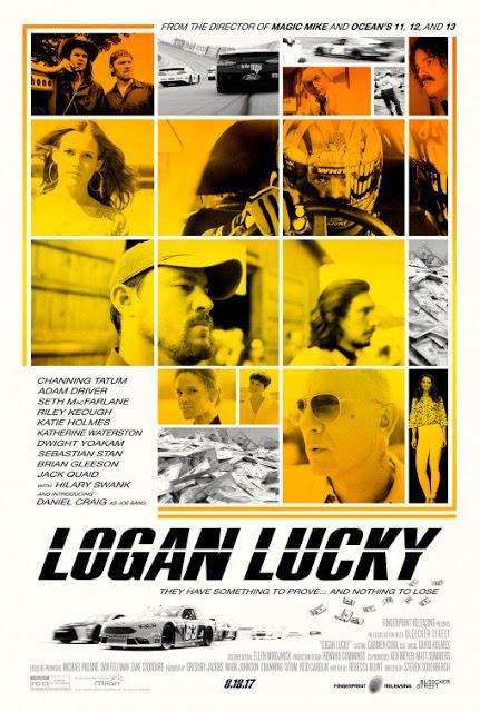 Nouvelle affiche US pour Logan Lucky de Steven Soderbergh
