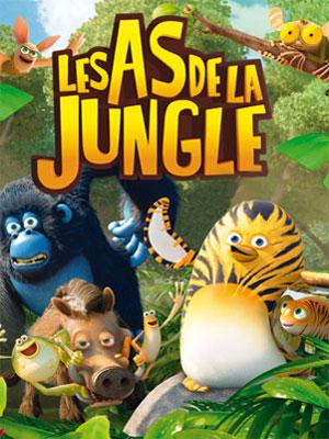 Les As de la Jungle (2017) de David Alaux