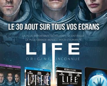 LIFE : ORIGINE INCONNUE (Concours) 2 Blu-Ray + 1 Thermos à gagner