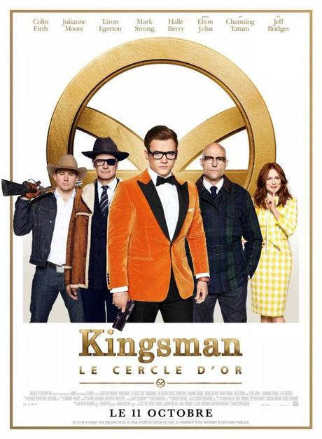 Kingsman cercle d'or