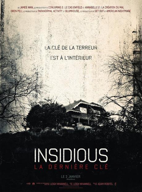 Affiche VF pour Insidious : La Dernière Clé de Adam Robitel