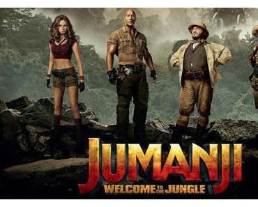 Nouvelles affiches personnages US pour Jumanji : Bienvenue dans la Jungle de Jake Kasdan