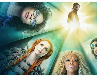 Afiches personnages US pour Un Raccourci dans le Temps de Ava DuVernay