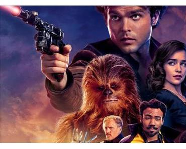 Nouvelle affiche UK pour Solo : A Star Wars Story de Ron Howard