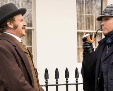 Première image officielle pour Holmes and Watson signé Etan Cohen