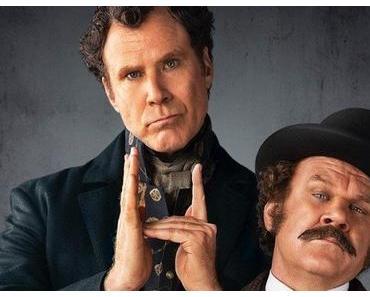 Première affiche teaser US pour Holmes & Watson signé Etan Cohen