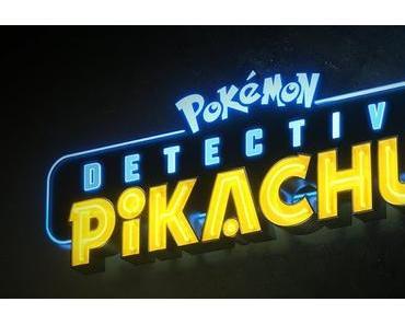 Premier logo officiel pour le live-action Detective Pikachu de Rob Letterman