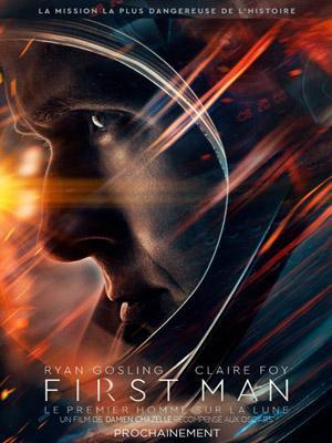 First premier homme Lune (2018) Damien Chazelle