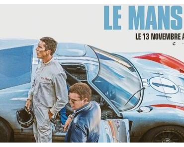 Affiche VF pour Le Mans 66 de James Mangold