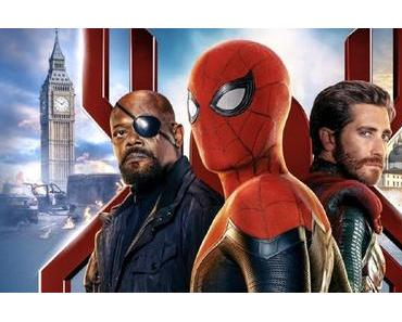 Nouvelle affiche chinoise pour Spider-Man : Far From Home de Jon Watts