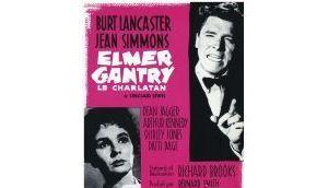 Elmer Gantry, charlatan