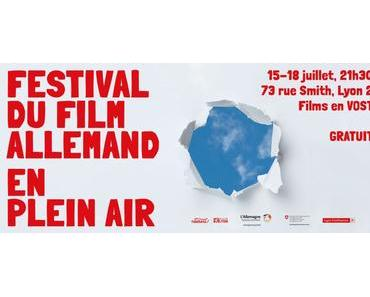 Du 15 au 18 juillet, festival du film allemand, en plein air, à Lyon