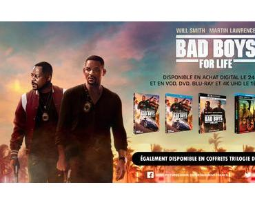 [CONCOURS] Gagnez vos Blu-ray & DVD de BAD BOYS FOR LIFE  !