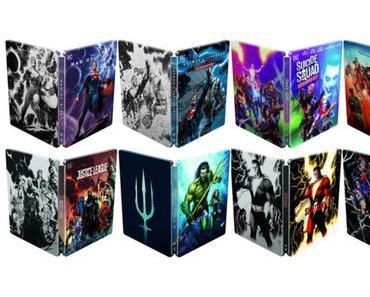Invasion de Steelbooks pour le DC Extended Universe !